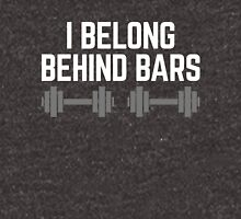 Behind Bars Gym Quote Unisex T-Shirt