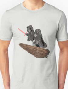 Star wars Mashup (grey) T-Shirt