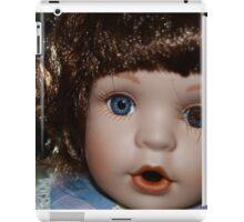 The staring doll iPad Case/Skin