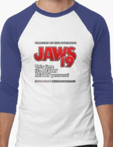 Jaws 19 - This time it's really really personal (Back to the Future) Men's Baseball ¾ T-Shirt