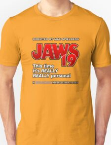 Jaws 19 - This time it's really really personal (Back to the Future) Unisex T-Shirt