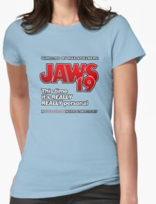 Jaws 19 - This time it's really really personal (Back to the Future) Womens Fitted T-Shirt
