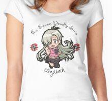 Chibi Elizabeth Women's Fitted Scoop T-Shirt