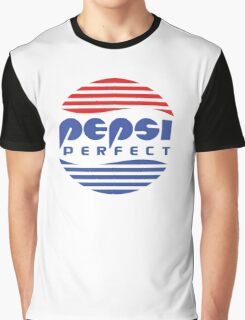 Pepsi Perfect - Back to the Future (Flat Colors) Graphic T-Shirt