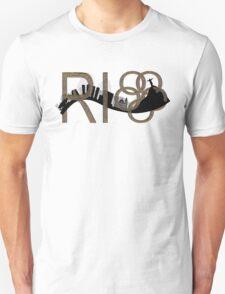 Abstract Rio de Janeiro skyline T-Shirt