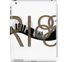 Abstract Rio de Janeiro skyline iPad Case/Skin