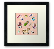 To Mommy Framed Print
