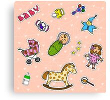To Mommy Canvas Print