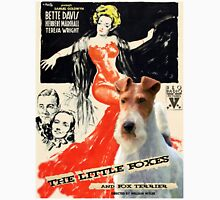 Wire Fox Terrier Art - The Little Foxes Movie Poster Unisex T-Shirt