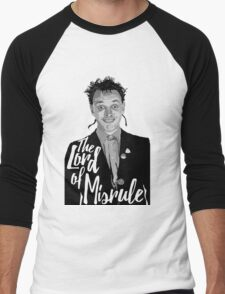 Rik Mayall - Lord Of Misrule Men's Baseball ¾ T-Shirt
