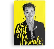 Rik Mayall - Lord Of Misrule Metal Print