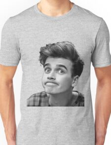 Joe Sugg (Black + White) Unisex T-Shirt