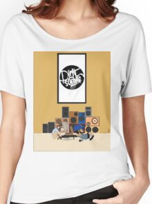 Blu & Exile Peanuts Women's Relaxed Fit T-Shirt