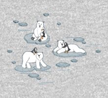 Polar Bear Loves Penguin One Piece - Long Sleeve