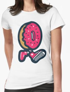 WeeklyDonut's Donut Womens Fitted T-Shirt