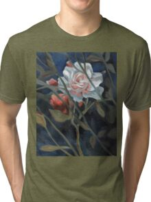 study of a rose in the back garden Tri-blend T-Shirt