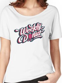 WeeklyDonut Podcast Logo Women's Relaxed Fit T-Shirt
