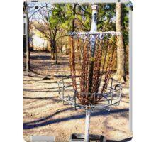 Disc Golf Basket iPad Case/Skin