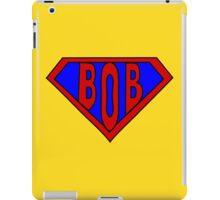 Hero, Heroine, Superhero, Super Bob iPad Case/Skin