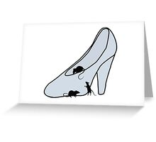 The Glass Slipper Greeting Card