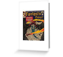 The Fantastic Four Greeting Card