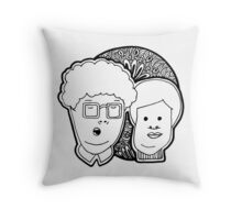 Boring Couple Throw Pillow