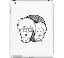 Boring Couple iPad Case/Skin