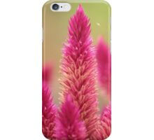 pink flora iPhone Case/Skin