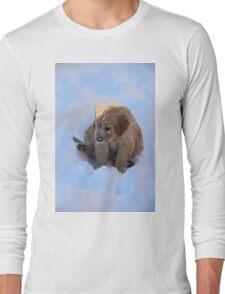 Dixie- Snow Is FUN! - Little Sapling Gang Long Sleeve T-Shirt