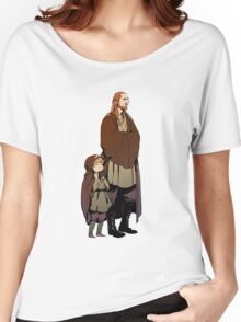 Qui Gon and Padawan Women's Relaxed Fit T-Shirt