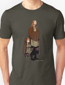 Qui Gon and Padawan Unisex T-Shirt
