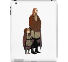 Qui Gon and Padawan iPad Case/Skin