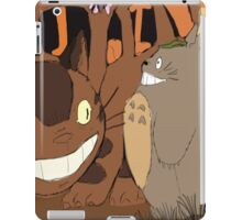 My Neighbour Totoro scene Catbus iPad Case/Skin