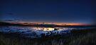 Sunset near Bamburgh by Nigel Bangert