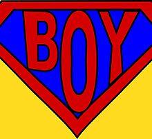 Hero, Heroine, Superhero, Super Boy by Kreativista