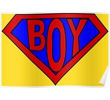 Hero, Heroine, Superhero, Super Boy Poster