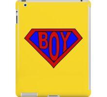 Hero, Heroine, Superhero, Super Boy iPad Case/Skin
