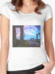 The Road of Life Women's Fitted Scoop T-Shirt