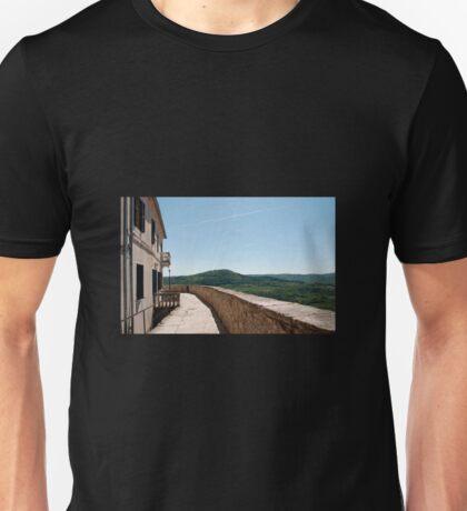 Buildings in Motovun Unisex T-Shirt
