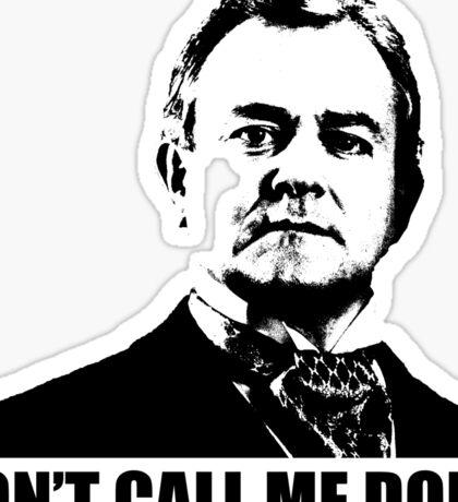 Downton Abbey Donk Robert Crawley Tshirt Sticker