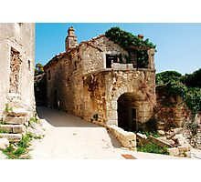 Buildings in Pican Photographic Print