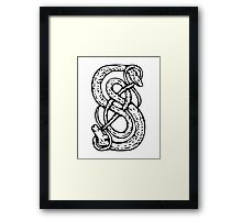 Loki Symbol Framed Print