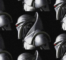Reimagined Cylon Centurion (Pixelated) by Xiye7