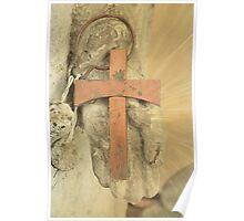 Cross In Hand Poster