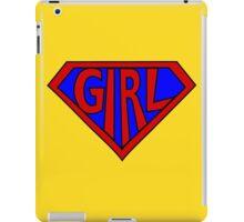 Hero, Heroine, Superhero, Super Girl iPad Case/Skin