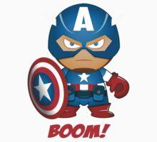 SupaDupa Captain America Kids Clothes