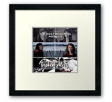 Elle & Emily Framed Print