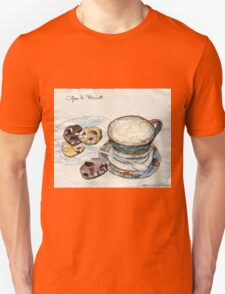 Coffee & Biscuits Unisex T-Shirt