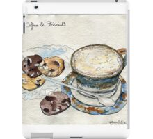 Coffee & Biscuits iPad Case/Skin