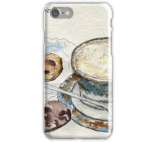 Coffee & Biscuits iPhone Case/Skin